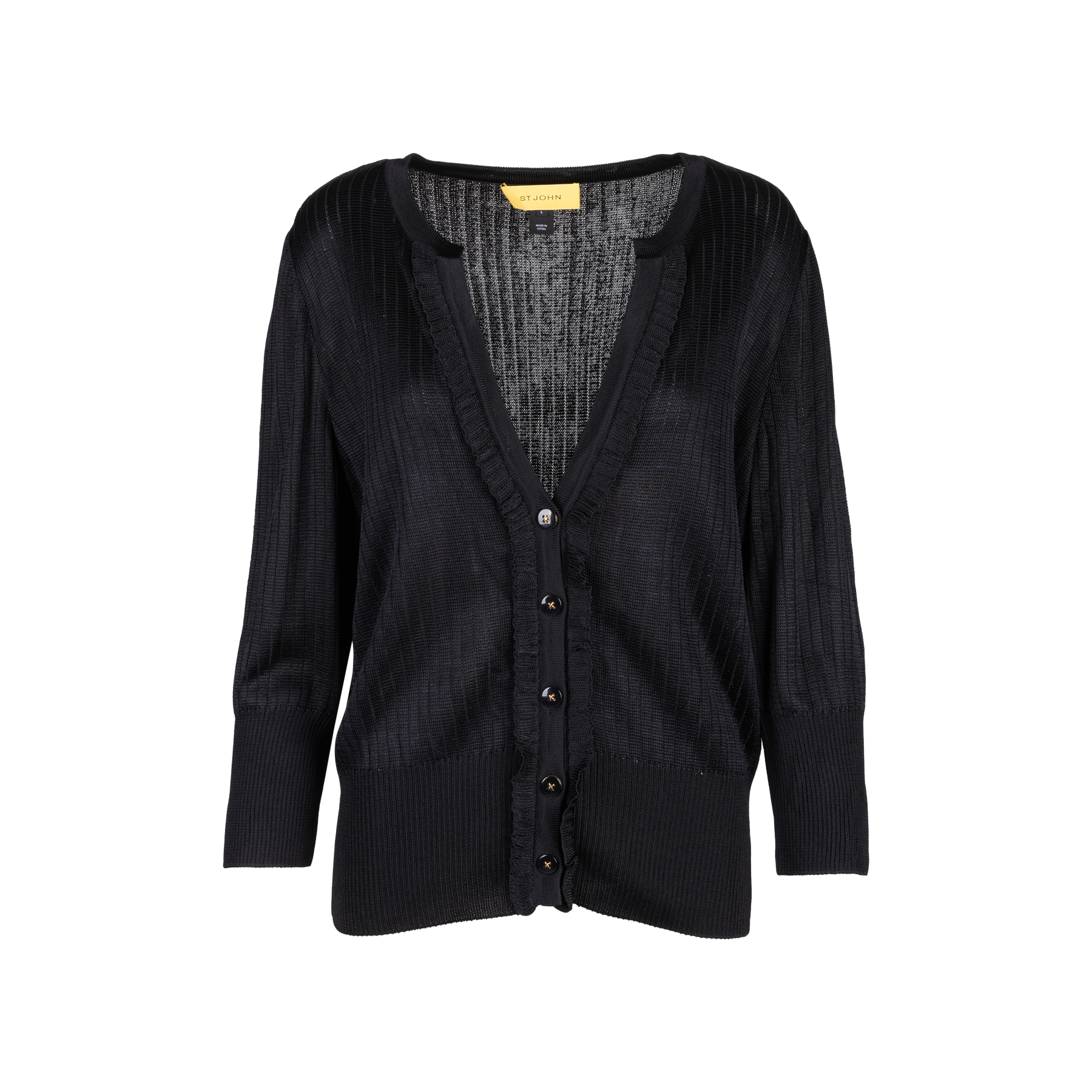 cc94e7df839 Authentic Second Hand St. John Knit Cardigan (PSS-111-00008) - THE FIFTH  COLLECTION