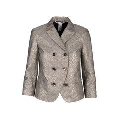 Double Breasted Metallic Jacket
