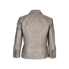 Diane von furstenberg double breasted metallic jacket 2?1550033023