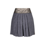 Authentic Second Hand Philosophy Di Alberta Ferretti Sequined Checkered Skirt (PSS-111-00019) - Thumbnail 1