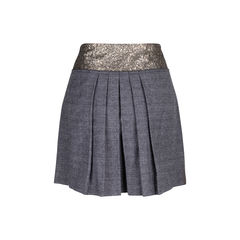 Philosophy di alberta ferretti sequined checkered skirt 2?1550033076