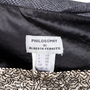 Authentic Second Hand Philosophy Di Alberta Ferretti Sequined Checkered Skirt (PSS-111-00019) - Thumbnail 2