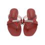 Authentic Second Hand Stuart Weitzman Leather Slides (PSS-375-00046) - Thumbnail 0