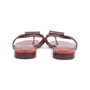 Authentic Second Hand Stuart Weitzman Leather Slides (PSS-375-00046) - Thumbnail 5
