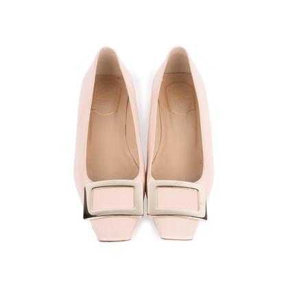 Authentic Second Hand Roger Vivier Belle Vivier Ballet Flats (PSS-375-00047)