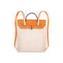 Authentic Vintage Hermès Herbag Ado Backpack 2 in 1 (PSS-613-00004) - Thumbnail 3