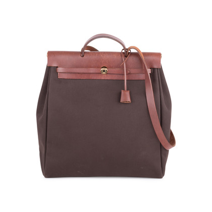 Authentic Pre Owned Hermès Herbag MM 2 in 1 (PSS-613-00007)