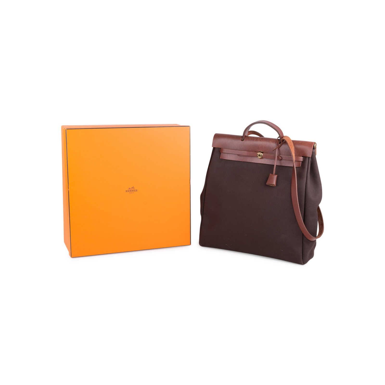 b6d54ba52b00 ... Authentic Second Hand Hermès Herbag MM 2 in 1 (PSS-613-00007)