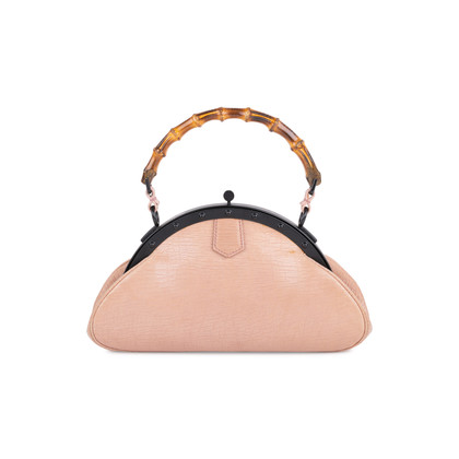 Authentic Second Hand Gucci Bamboo Handle Frame Bag (PSS-613-00009)