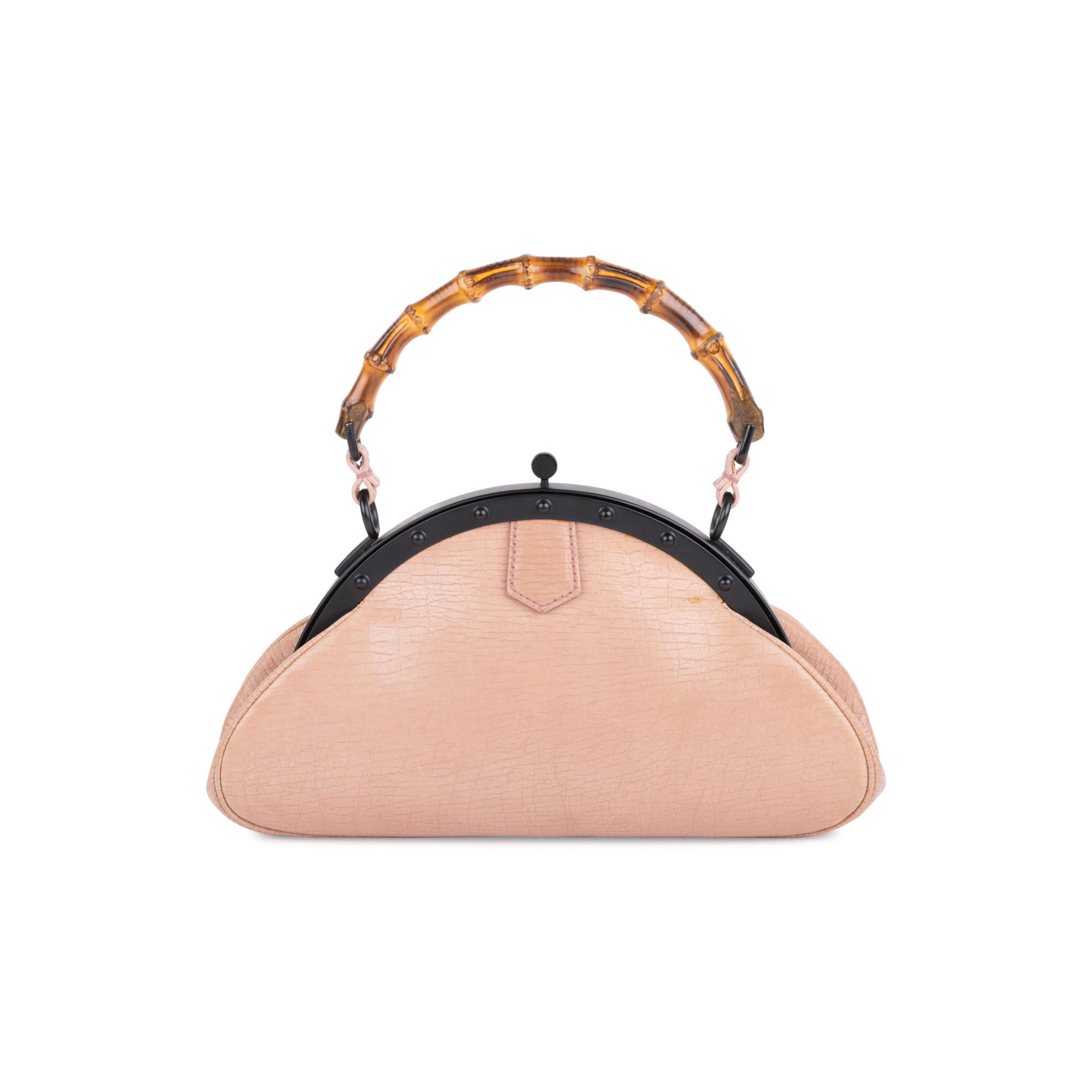 5b1051b2935a Authentic Second Hand Gucci Bamboo Handle Frame Bag (PSS-613-00009) | THE  FIFTH COLLECTION
