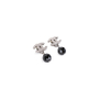 Authentic Second Hand Chanel 'CC' Logo Dangle Earrings (PSS-613-00010) - Thumbnail 2