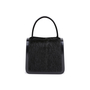 Authentic Second Hand Céline Resin Handle Fur and Patent Handbag (PSS-613-00011) - Thumbnail 0