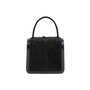 Authentic Second Hand Céline Resin Handle Fur and Patent Handbag (PSS-613-00011) - Thumbnail 2