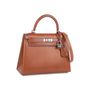 Authentic Pre Owned Hermès Fauve Barenia Sellier Kelly 25 (PSS-613-00006) - Thumbnail 1