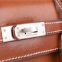 Authentic Pre Owned Hermès Fauve Barenia Sellier Kelly 25 (PSS-613-00006) - Thumbnail 4