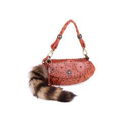 Barbara bui raccoon fur tail shoulder bag 2?1550471885