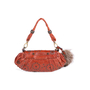Authentic Second Hand Barbara Bui Raccoon Fur Tail Shoulder Bag (PSS-111-00014) - Thumbnail 2
