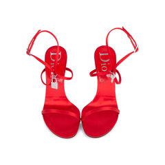 Padlock Ankle Strap Sandals