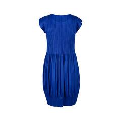 Pleats please blue pleated midi dress 2?1550472483