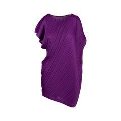 Asymmetrical Pleated Tunic Dress