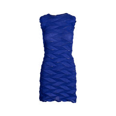 Geometric Pressed Tunic Dress