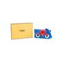 Authentic Second Hand Fendi Blue Micro Baguette (PSS-610-00006) - Thumbnail 6