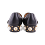 Authentic Second Hand Gucci Peyton Pearl-Embellished Heel Loafers (PSS-607-00012) - Thumbnail 5
