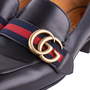 Authentic Second Hand Gucci Peyton Pearl-Embellished Heel Loafers (PSS-607-00012) - Thumbnail 6
