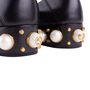 Authentic Second Hand Gucci Peyton Pearl-Embellished Heel Loafers (PSS-607-00012) - Thumbnail 7