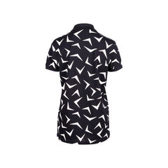 Saint laurent boomerang print polo shirt 2?1550635690