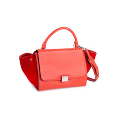 Celine trapeze bag red 2?1550636269