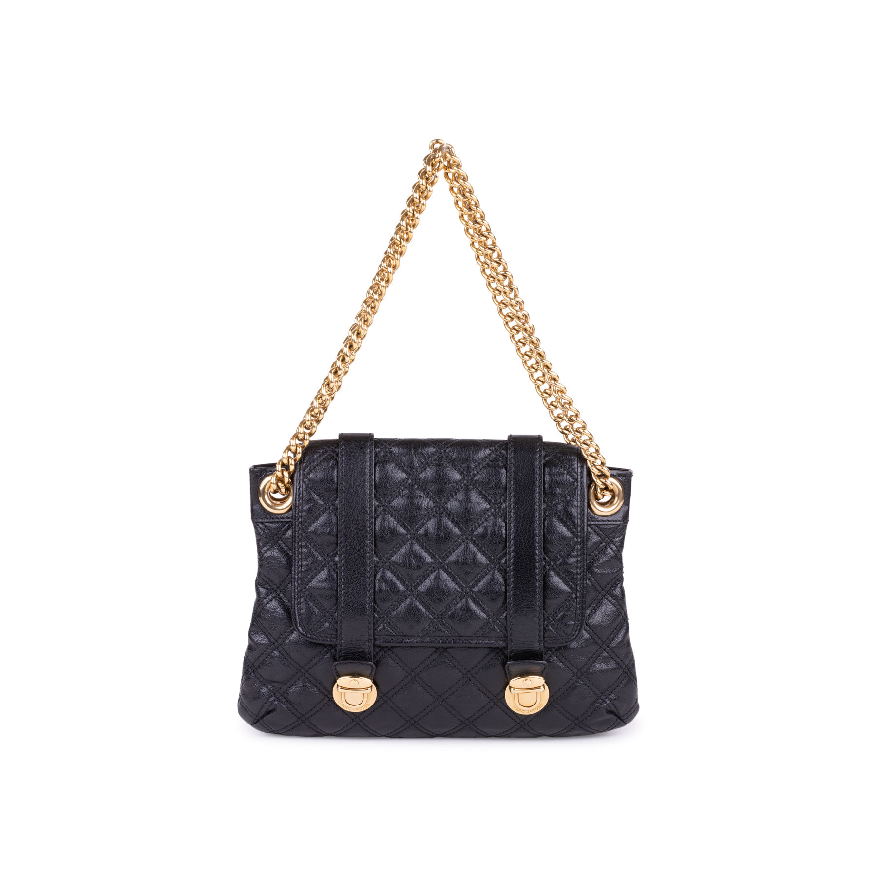 Authentic Pre Owned Marc Jacobs Quilted Single Flap Shoulder Bag db6b5f6c03b1b