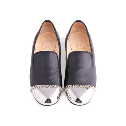 Authentic Pre Owned Christian Louboutin Rollergirl Flats (PSS-004-00093)