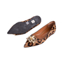 Authentic Second Hand Russell & Bromley Embellished Leopard Print Pointed Pumps (PSS-247-00098) - Thumbnail 1
