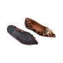 Authentic Second Hand Russell & Bromley Embellished Leopard Print Pointed Pumps (PSS-247-00098) - Thumbnail 2