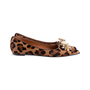 Authentic Second Hand Russell & Bromley Embellished Leopard Print Pointed Pumps (PSS-247-00098) - Thumbnail 4
