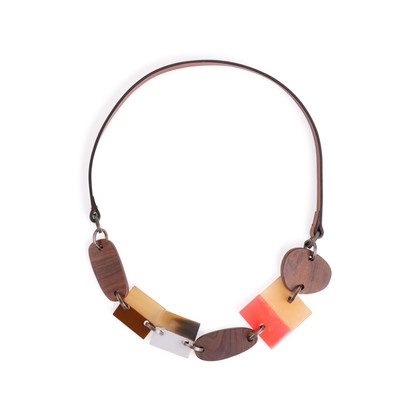 Authentic Second Hand Marni Multishape Necklace (PSS-247-00101)