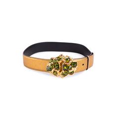 Crystal Encrusted Buckle Belt