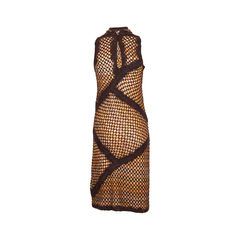 Missoni wool and knitted lace dress 2?1550880618