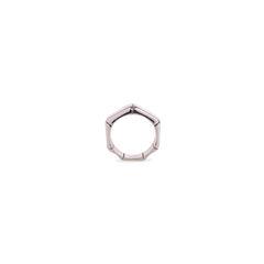 Silver Bamboo Ring