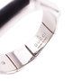 Authentic Second Hand Gucci Silver Bamboo Ring (PSS-612-00002) - Thumbnail 5
