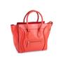 Authentic Second Hand Céline Vermillion Micro Luggage Bag (PSS-619-00002) - Thumbnail 1