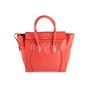Authentic Second Hand Céline Vermillion Micro Luggage Bag (PSS-619-00002) - Thumbnail 2