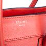 Authentic Second Hand Céline Vermillion Micro Luggage Bag (PSS-619-00002) - Thumbnail 4
