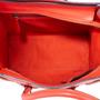 Authentic Second Hand Céline Vermillion Micro Luggage Bag (PSS-619-00002) - Thumbnail 5