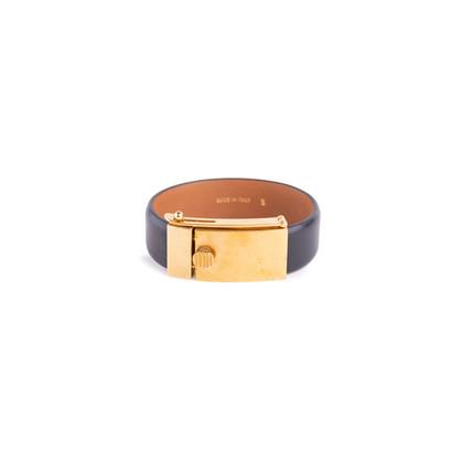 Authentic Second Hand Céline Leather Bracelet (PSS-619-00003)