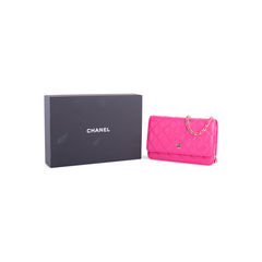 Chanel classic wallet on chain pink 2?1551164395
