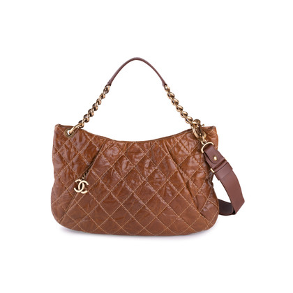 Authentic Second Hand Chanel Caviar Coco Pleats Hobo Bag (PSS-636-00003)
