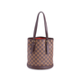 Authentic Vintage Louis Vuitton Marais Damier Ebene Petit Bucket (PSS-636-00005) - Thumbnail 0