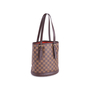 Authentic Vintage Louis Vuitton Marais Damier Ebene Petit Bucket (PSS-636-00005) - Thumbnail 1
